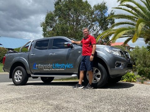 Anthony Taffe, founder of Bayside Lifestyles Building and Pest Inspections