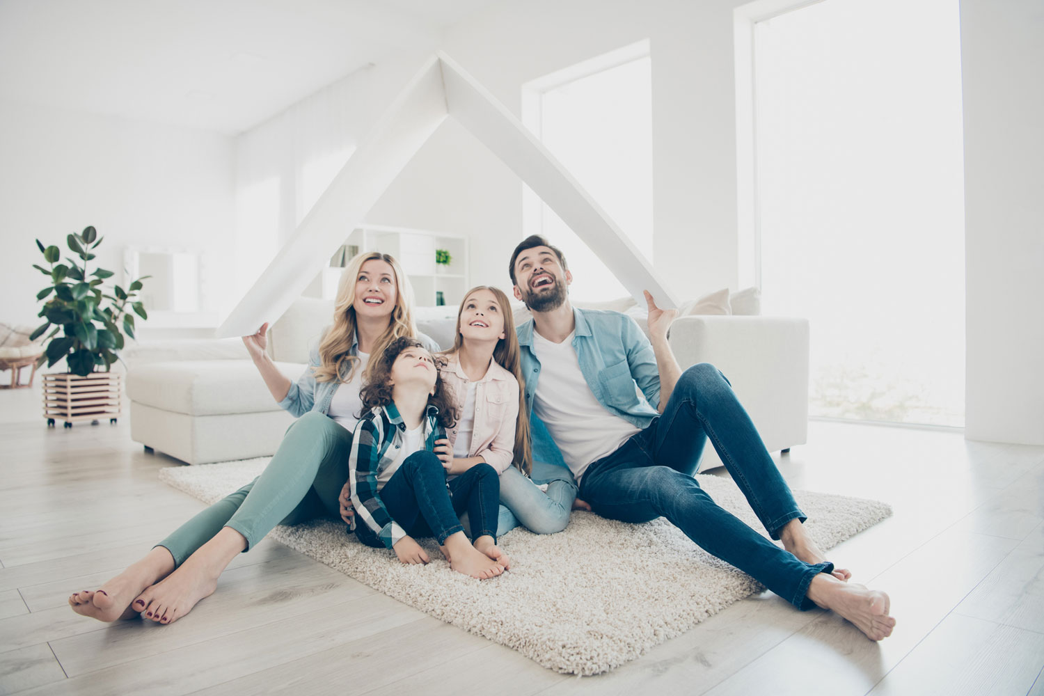 Family at Home - Bayside Lifestyles